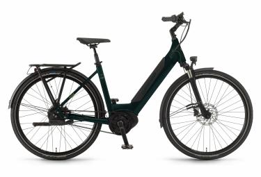 Winora Sinus iR380 Auto Enviolo TR 500 Wh 700mm Bicicleta eléctrica de ciudad Dark Pine Green 2020