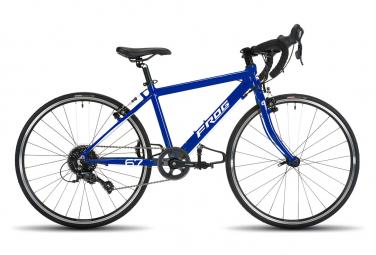 Bicicleta De Carretera Infantil Frog Bikes Road 67 24   Azul 2021 8 12 Anos