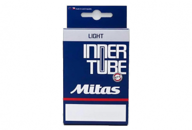 Chambre à Air Allégée Mitas Light 700c Presta 80 mm