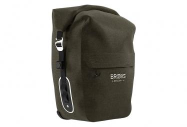 Sacoche de Porte-Bagages Brooks Scape Large 18-22L Marron Kaki Mud