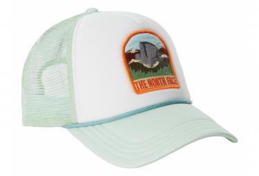 The North Face Valley Trucker Gorra verde blanco