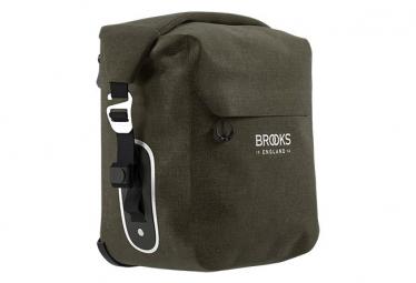 Sacoche de Porte-Bagages Brooks Scape Small 10-13L Marron Kaki Mud