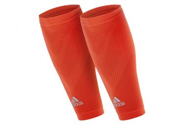 Adidas calf compression sleeves rojo s m