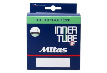 Inner Tube with Preventive Mitas SLUG 700c BSC 0.9mm Presta 47 mm