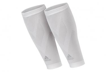 Adidas calf compression sleeves blanco l xl