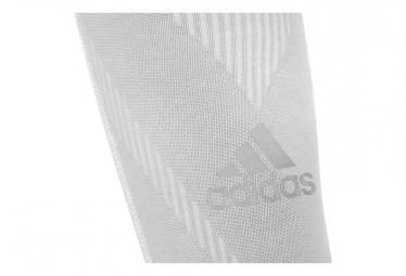 Manchons de Compression Mollet Adidas Blanc
