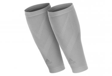 Manchons de Compression Mollet Adidas Gris