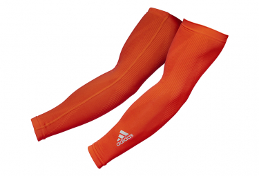 Manchettes Adidas Compression Arm Sleeves Rouge