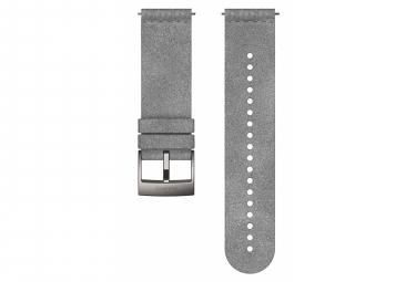 Bracelet Microfibre Suunto Urban 5 24 mm Gris