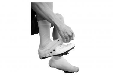 Paire de Couvre-Chaussures Velotoze Haut Silicone Snaps Noir