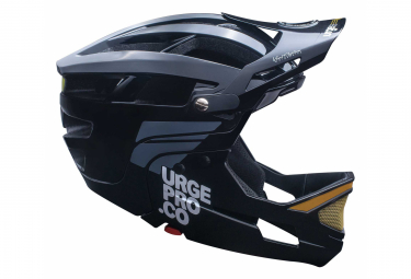 Helmet with Removable Chin Guard Urge Gringo de la Sierra Black