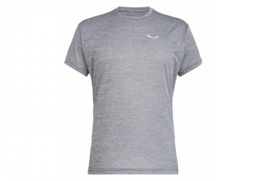 T-Shirt Salewa Puez Melange Dry Gris