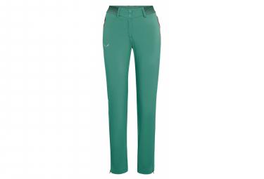 Pantalon Verde Mujer Salewa Pedroc 3 Durastretch Regular S
