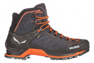 Zapatos De Senderismo Salewa Mtn Trainer Mid Gtx Gris   Naranja 46 1 2
