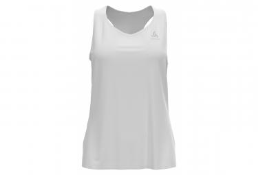 Camiseta De Tirantes Blanca Odlo Essential Mujer M