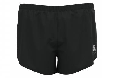 Pantalones Cortos Con Abertura Odlo Zeroweight Black L