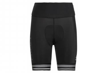 Pantalon Corto Mujer Odlo Zeroweight Ceramicool Pro Negro L