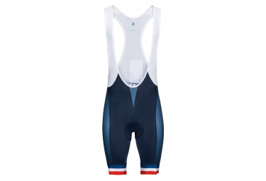 Short Odlo Performance Francia Azul   Blanco Xl