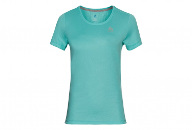 Maillot Odlo F Dry Verde Mujer M