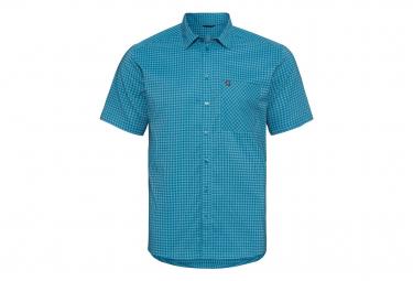 Camisa Odlo Nikko Check Azul Xl