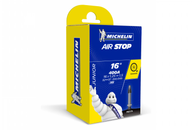 Chambre à Air Michelin AirStop Junior 16'' 400A Presta 29 mm