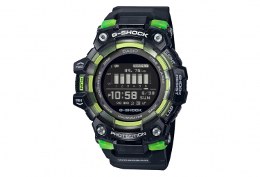 Reloj Casio G Squad Training Gbd 100sm 1er Negro   Verde