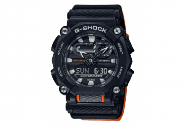 Montre de Sport Casio GA-900C-1A4ER Noir / Orange