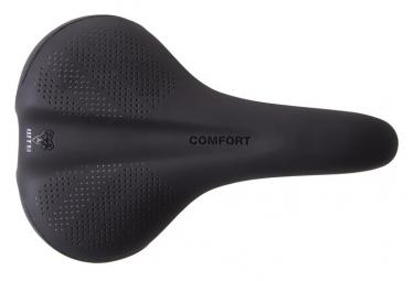 WTB Comfort Wide Steel Saddle Black
