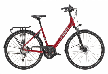 Bici da città elettrica Trek Verve + 2 Lowstep Shimano Altus 9V 300wh Matt Gunmetal 2020