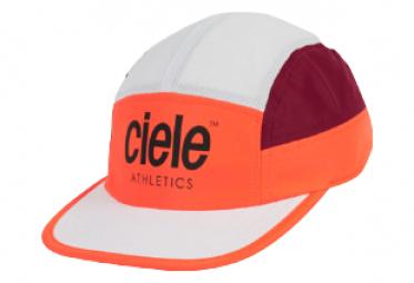 Casquette Ciele GoCap Athletics Marsone Blanc / Rouge