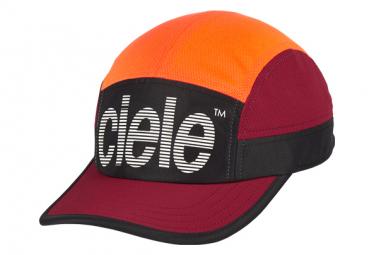 Casquette Ciele GOCap SC Standard Stripe Rouge Orange Red Rocks
