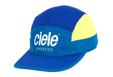 Casquette Ciele GOCap SC Athletics Bleu Jaune Fluo Seawall
