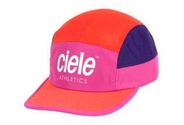 Casquette Ciele GOCap SC Athletics Rose Orange Violet Chaka