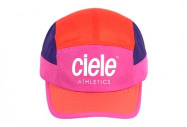 Casquette Ciele GOCap SC Athletics Rose Orange Violet Chaka