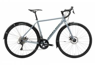 Gravel Bike Kona Rove AL DL SE Shimano Sora 9V Bleu
