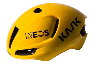 Casco Kask Utopia Team Ineos Aero Tour Ineos Amarillo L  59 62 Cm