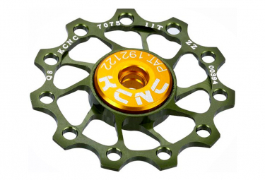 KCNC Jocky Wheel ULTRA  Roulements Céramiques Vert 11 Dents