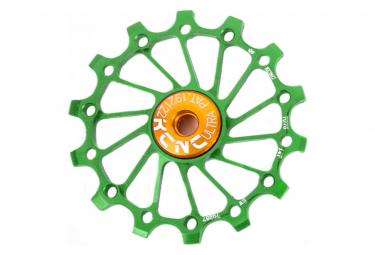 KCNC Jocky Wheel ULTRA  SRAM X-Sync Roulements Céramiques Vert 14 Dents