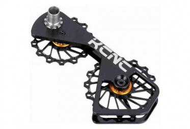 Jockey Wheel System pâte de dérailleur incl. Galets SH6800/9000 14+16D Noir