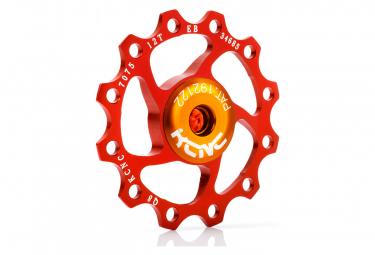 KCNC Jockey Wheel  Rouge 10 Dents