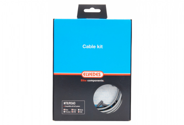 Elvedes Basic Cable Kit Transmission Cables Silver