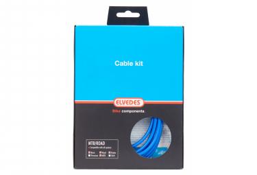 Kit de Frenado / Cables y Carcasa / Basic Elvedes Azul