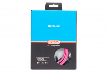Kit De Cables Basico Elvedes Cables De Transmision Rosa