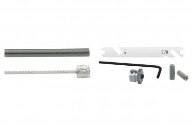 Cable de transmisión Elvedes para Shimano Nexus 4/7/8 S plateado