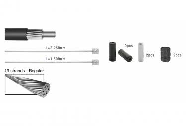 Elvedes Basic Cable Kit Cables de transmisión Amarillo