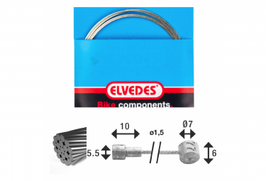 Câble de Frein Elvedes Ø 1,5mm 2350 mm (x19)