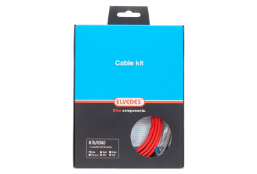 Elvedes Basic Cable Kit Cables de transmisión Rojo