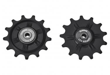 Rodillos de cambio Shimano 12V Negro