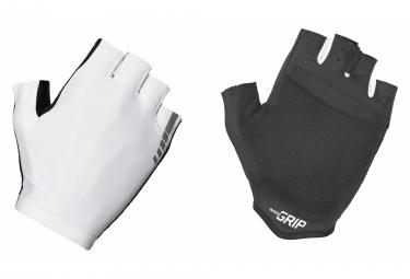 Gants Courts GripGrab Aerolite InsideGrip Blanc