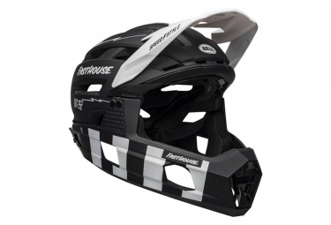 Casco Integral Bell Super Air R Mips Negro   Blanco 2021 L  58 62 Cm
